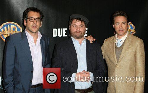 Todd Phillips, Robert Downey Jr, Warner Brothers and Zach Galifianakis 5