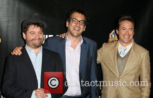Zach Galifianakis, Robert Downey Jr and Warner Brothers 3