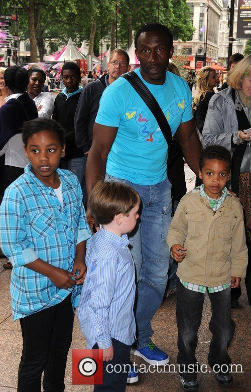 Linford Christie and Family 2