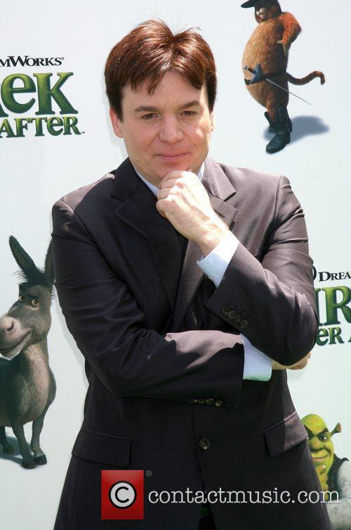 Actor Mike Myers arrives at the Los Angeles...