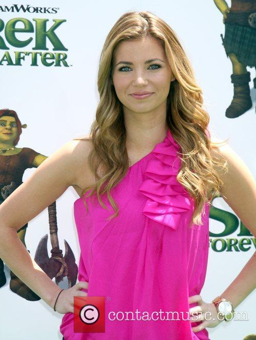 Actress Amber Lancaster  arrives at the Los...