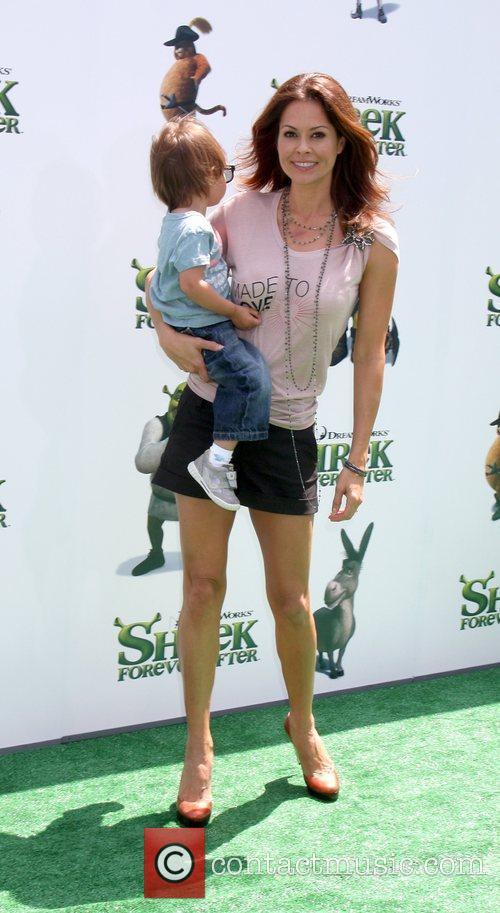 Brooke Burke arrives at the Los Angeles Premiere...