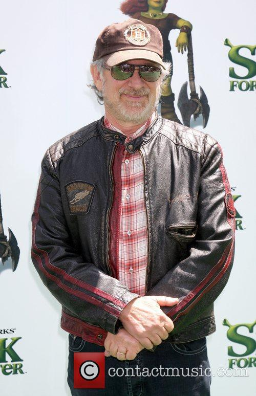 Director Steven Spielberg arrives at the Los Angeles...