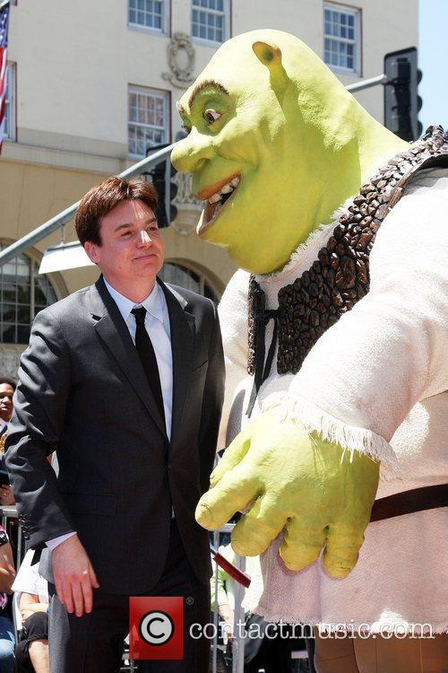 Mike Myers and Shrek 11
