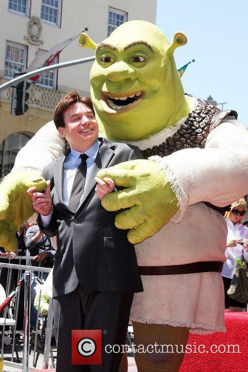 Mike Myers and Shrek 10