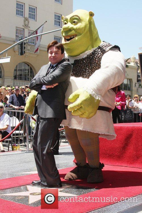 Mike Myers and Shrek 8