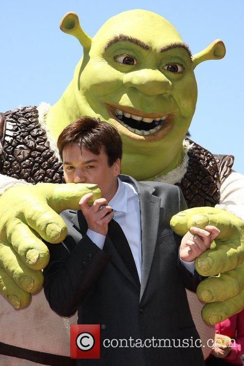 Mike Myers and Shrek 1