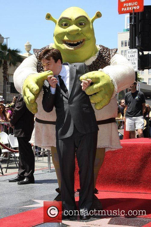 Mike Myers and Shrek 15