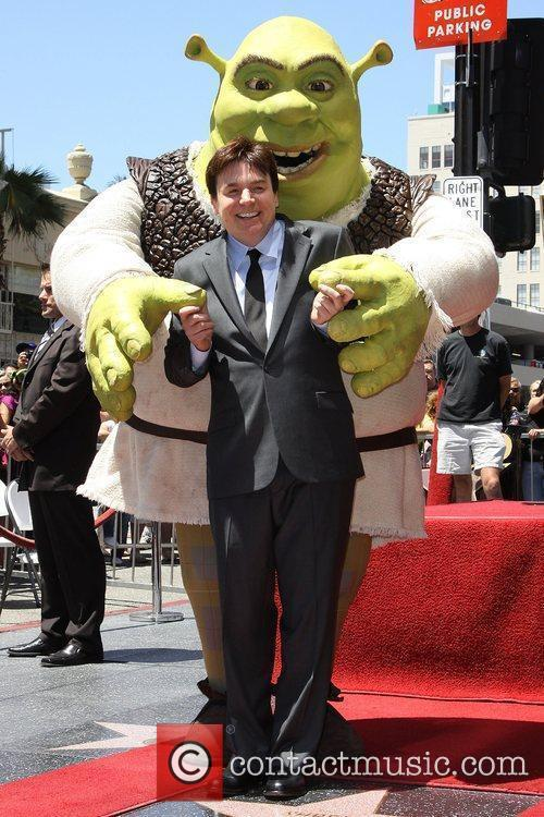 Mike Myers and Shrek 14