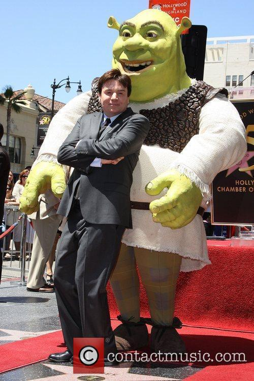 Mike Myers and Shrek 19