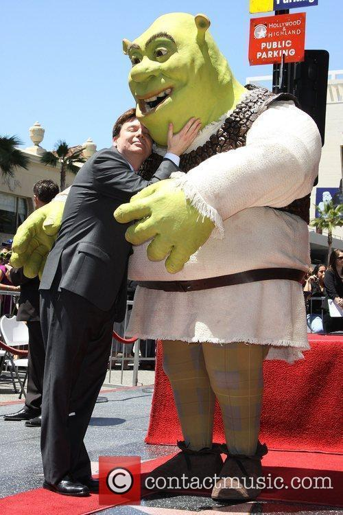 Mike Myers and Shrek 18