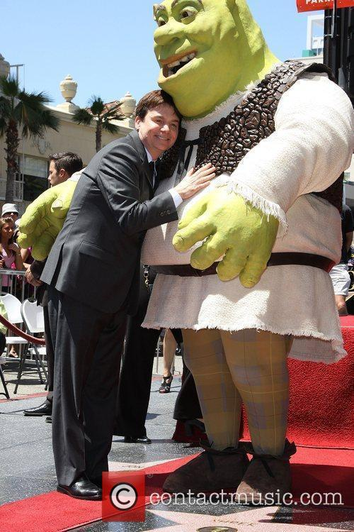 Mike Myers and Shrek 17