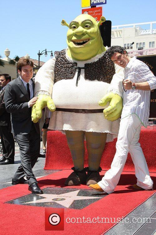 Shrek and Antonio Banderas 2