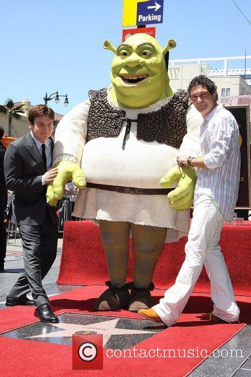 Shrek and Antonio Banderas 3