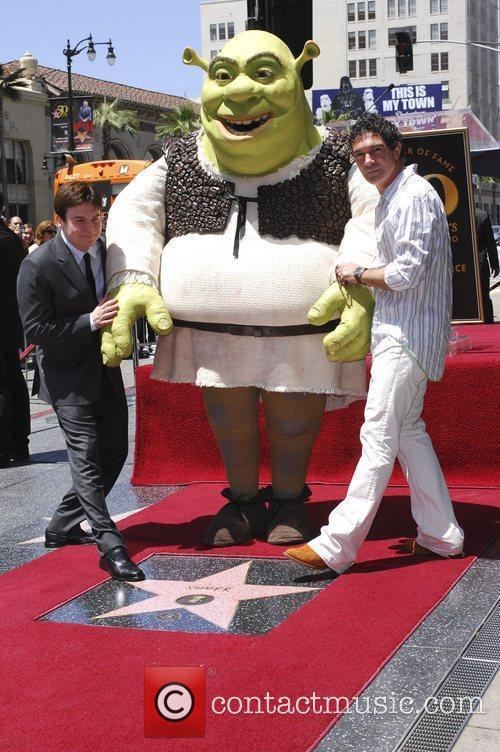 Mike Myers, Shrek and Antonio Banderas 5