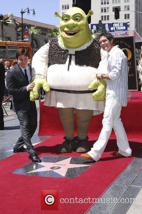 Mike Myers, Shrek, Antonio Banderas, Star On The Hollywood Walk Of Fame