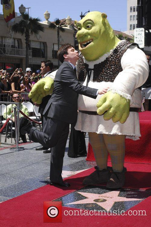 Shrek and Mike Myers 1