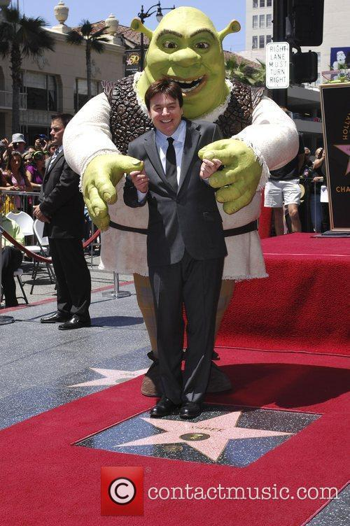 Shrek and Mike Myers 9