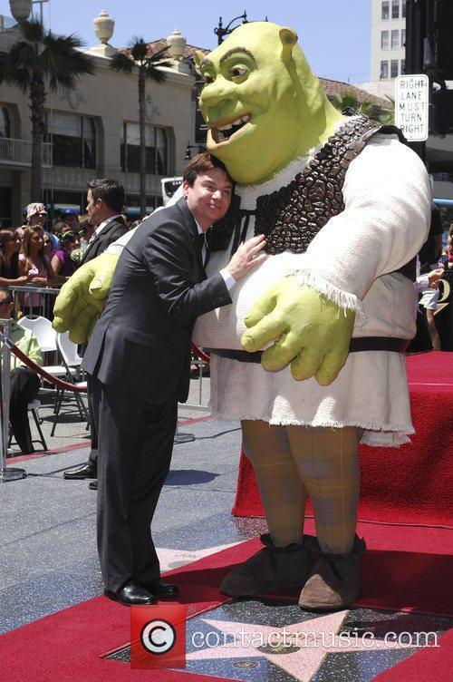 Shrek and Mike Myers 10