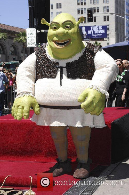 Shrek Walk Of Fame