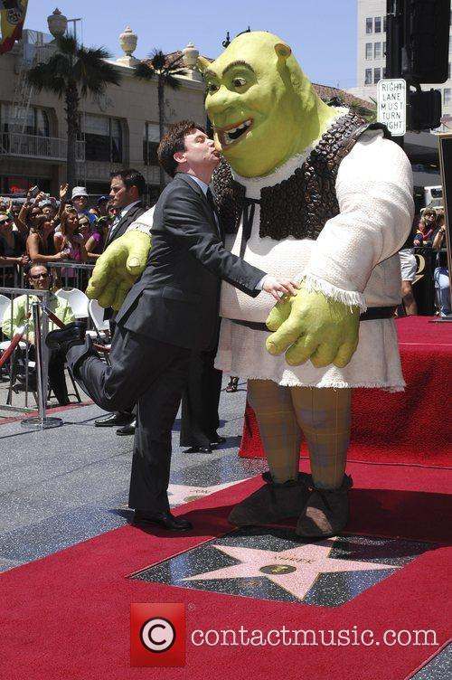 Shrek and Mike Myers 5