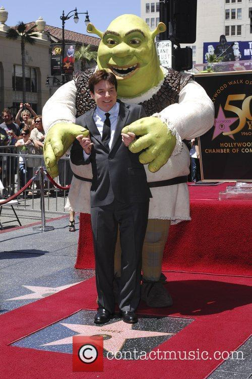 Shrek and Mike Myers 8