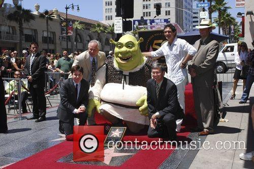 Tom LaBonge, Mike Myers, Shrek, Leron Gubler and...