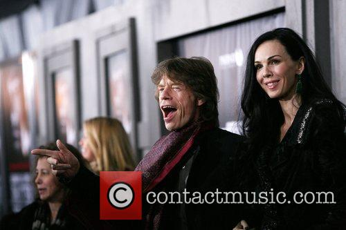 Mick Jagger and L'wren Scott 11