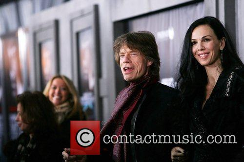 Mick Jagger and L'wren Scott 10