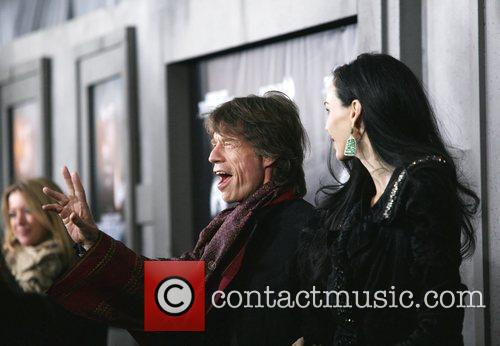 Mick Jagger and L'wren Scott 9