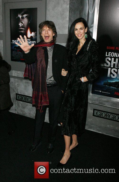 Mick Jagger, L'Wren Scott, Ziegfeld Theatre
