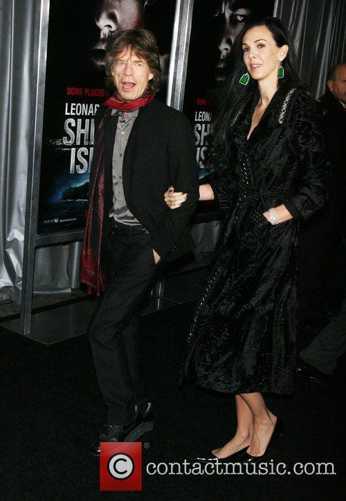 Mick Jagger and L'Wren Scott 1