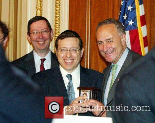 Senator Chuck Schumer The Kleinman Family was honored...
