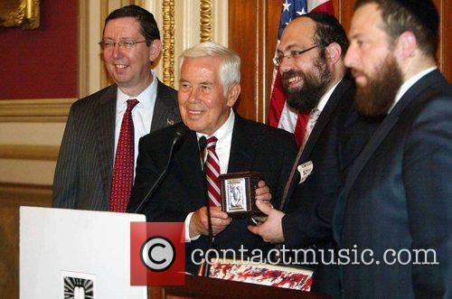 Senator Dick Lugar The Kleinman Family was honored...