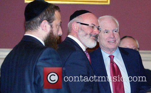 Senator John McCain The Kleinman Family was honored...