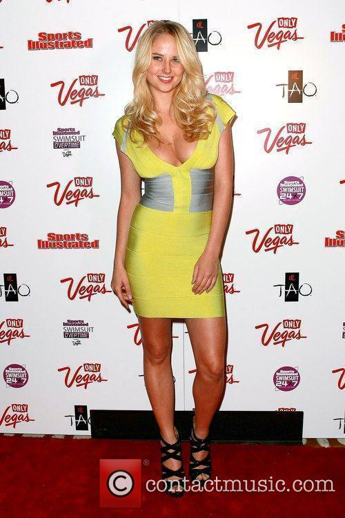 Genevieve Morton SI Swimsuit Overtime hosted by TAO...