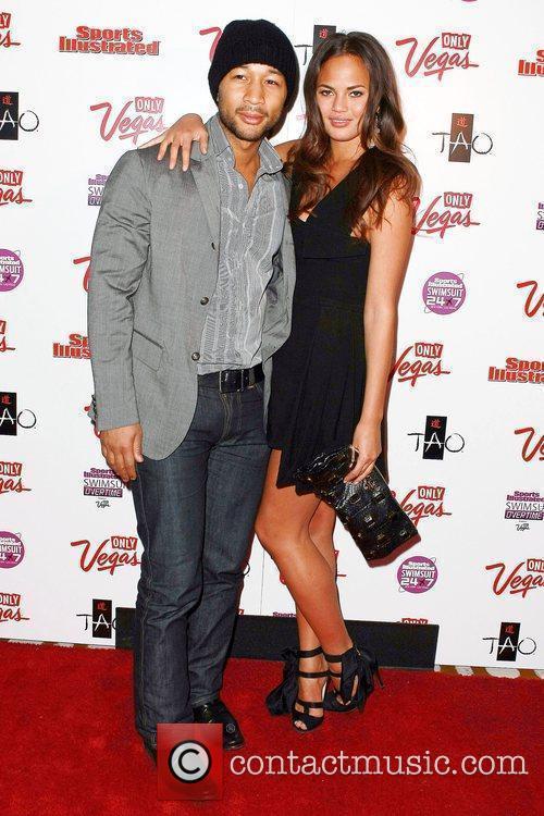 John Legend and Christine Teigan 1