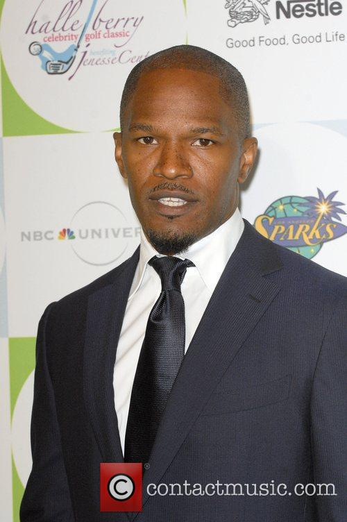 Actor Jamie Foxx attending the 2010 Silver Rose...