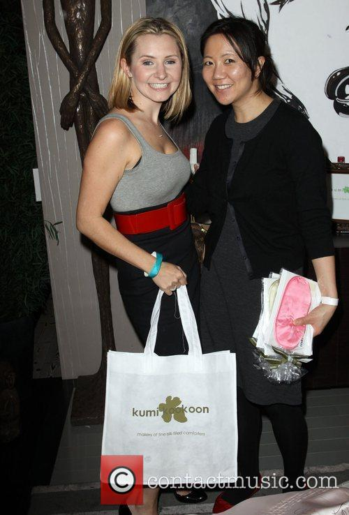 Beverley Mitchell and Guest Relief Fund Pre-Oscar gifting...