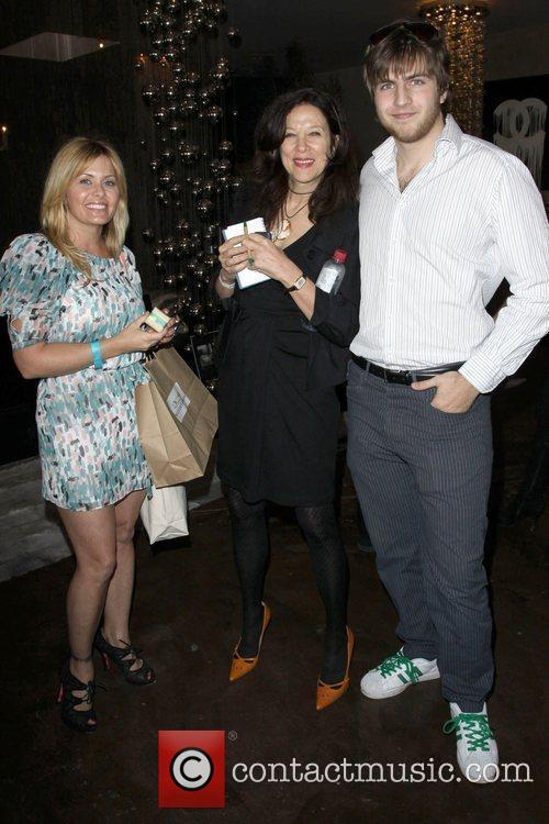 Nicole Eggert and Guests Relief Fund Pre-Oscar gifting...