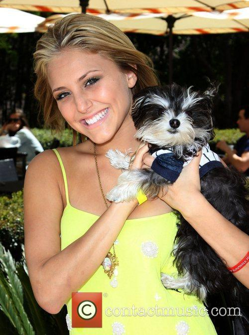 Cassie Scerbo Annual Dog And Baby Buffet Mother's...