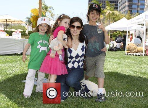 Geneva Wasserman and her children Annual Dog And...