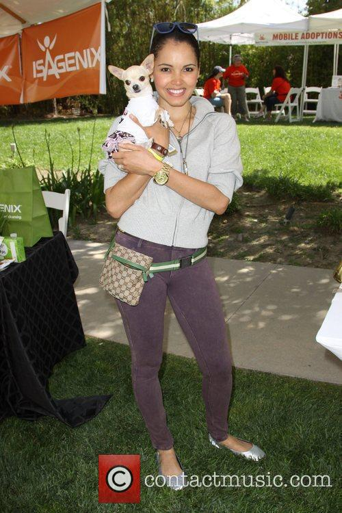 Susie Castillo and her dog Lupe Annual Dog...