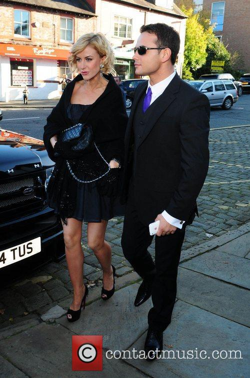 Katherine Kelly and Ryan Thomas arrives for the...