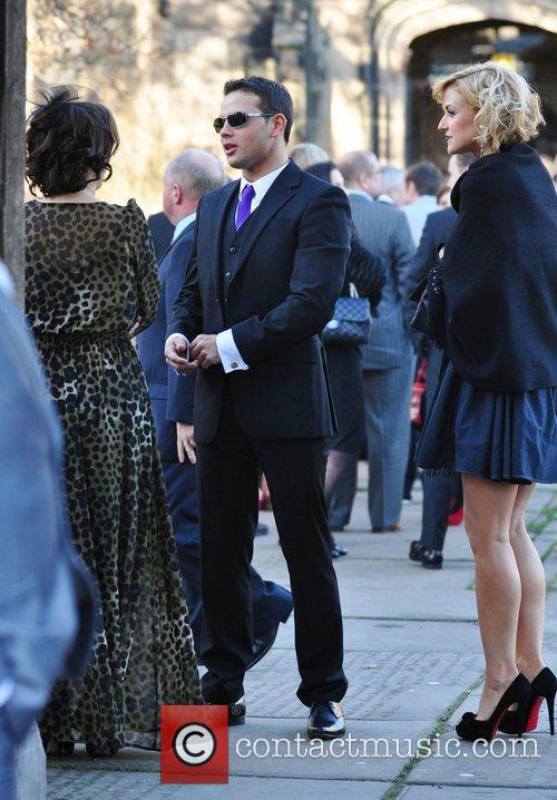 Guest, Ryan Thomas and Katherine Kelly arrives for...