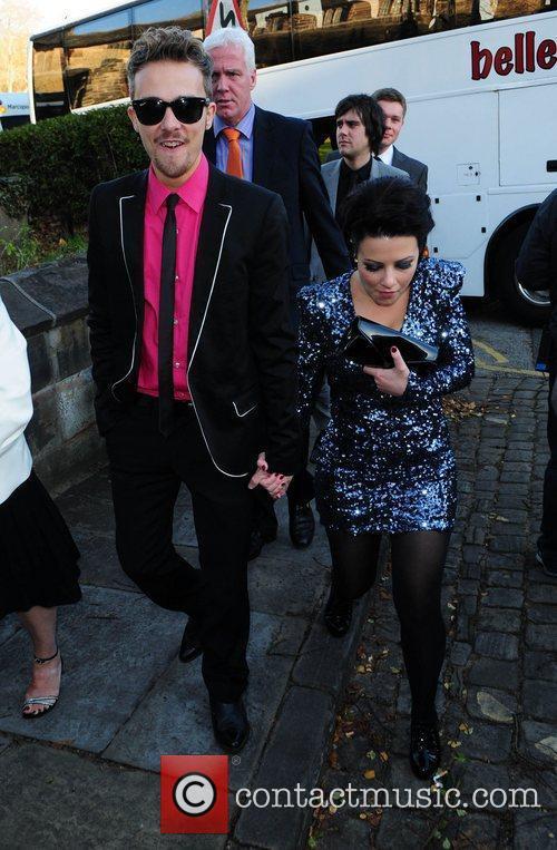 Jack P Shepherd and Lauren Shippey  arrives...