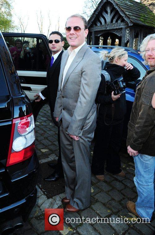 Antony Cotton The wedding of Simon Gregson and...