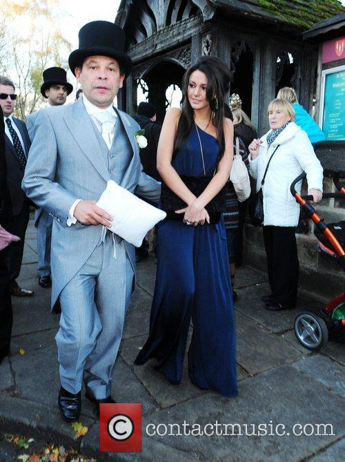 Craig Charles and Michelle Keegan The wedding of...