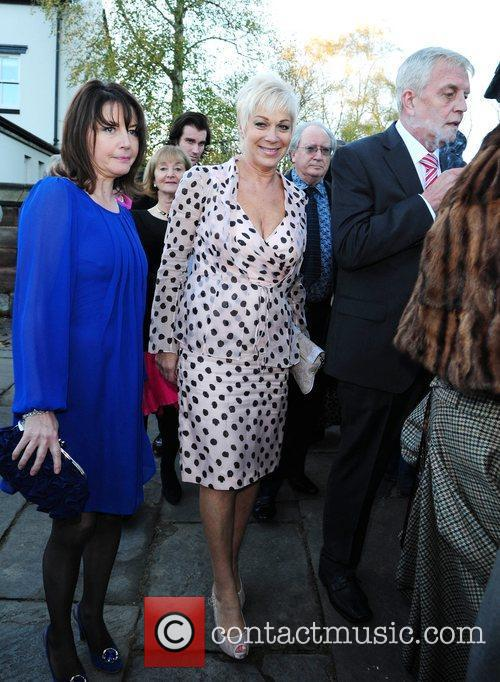 Denise Welch The wedding of Simon Gregson and...