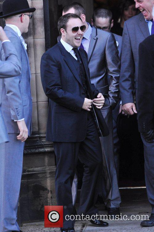 Guest The wedding of Simon Gregson and Emma...